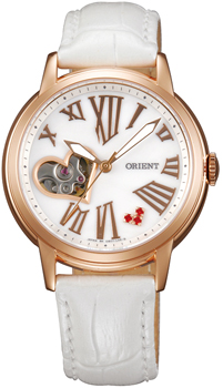 นาฬิกาผู้หญิง Orient รุ่น DB0700CW, Fashionable Automatic Open Heart Limited Edition 700pcs Women's Watch