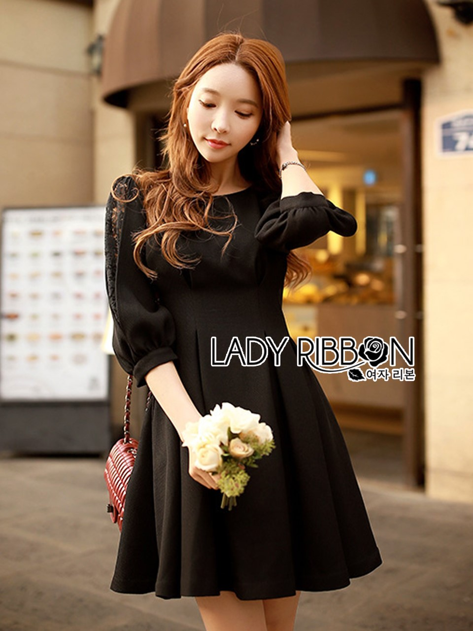 &#x1F380 Lady Ribbon's Made &#x1F380 Lady Erin Casual black Dress