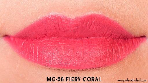 Matte Fiery Coral