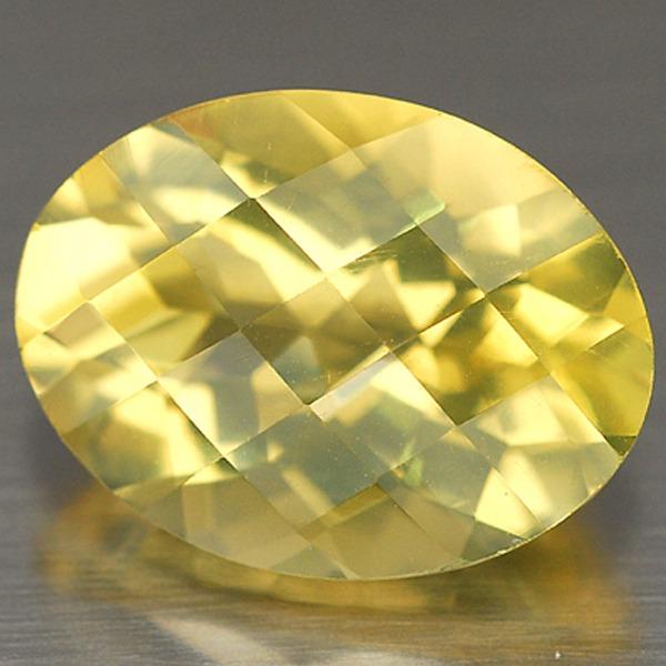 พลอยเลมอนควอตซ์ (Lemon Quartz) พลอยธรรมชาติแท้ น้ำหนัก 8.45 กะรัต