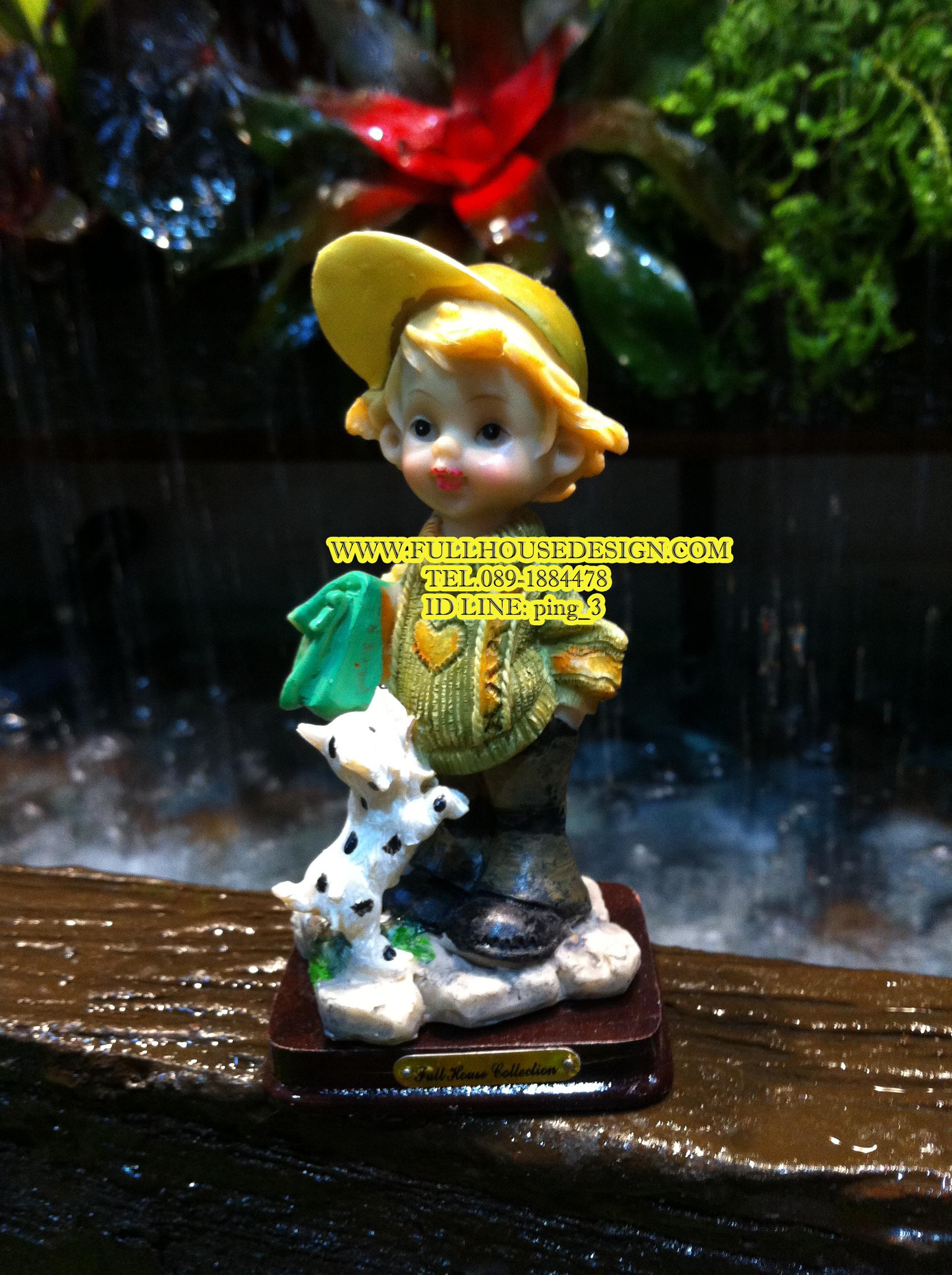ตุ๊กตา หนุ่มบ้านไร่ ฟูลเฮ้าส์ คอลเล็กชั่น เล็ก ท่าที่ 2