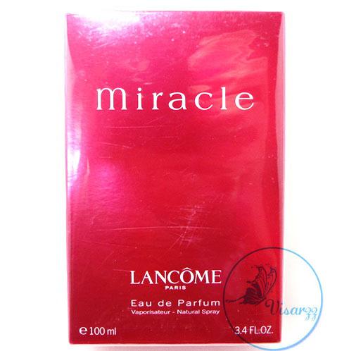 (ลดมากกว่า 40%) Lancome Miracle EDP Natural Spray 100 mL น้ำหอมที่ขึ้นแท่นตำนาน หญิงสาวทุกคนต้องเคยผ่านกลิ่นนี้ กลิ่นหอมบริสุทธิ์เหมือนอยู่ท่ามกล