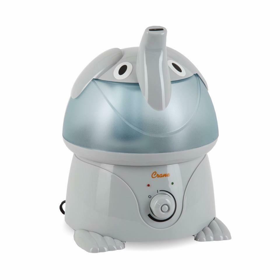 เครื่องสร้างความชื้นในอากาศ Crane USA รุ่น Adorable Ultrasonic Cool Mist Humidifier (Elliot the Elephant)