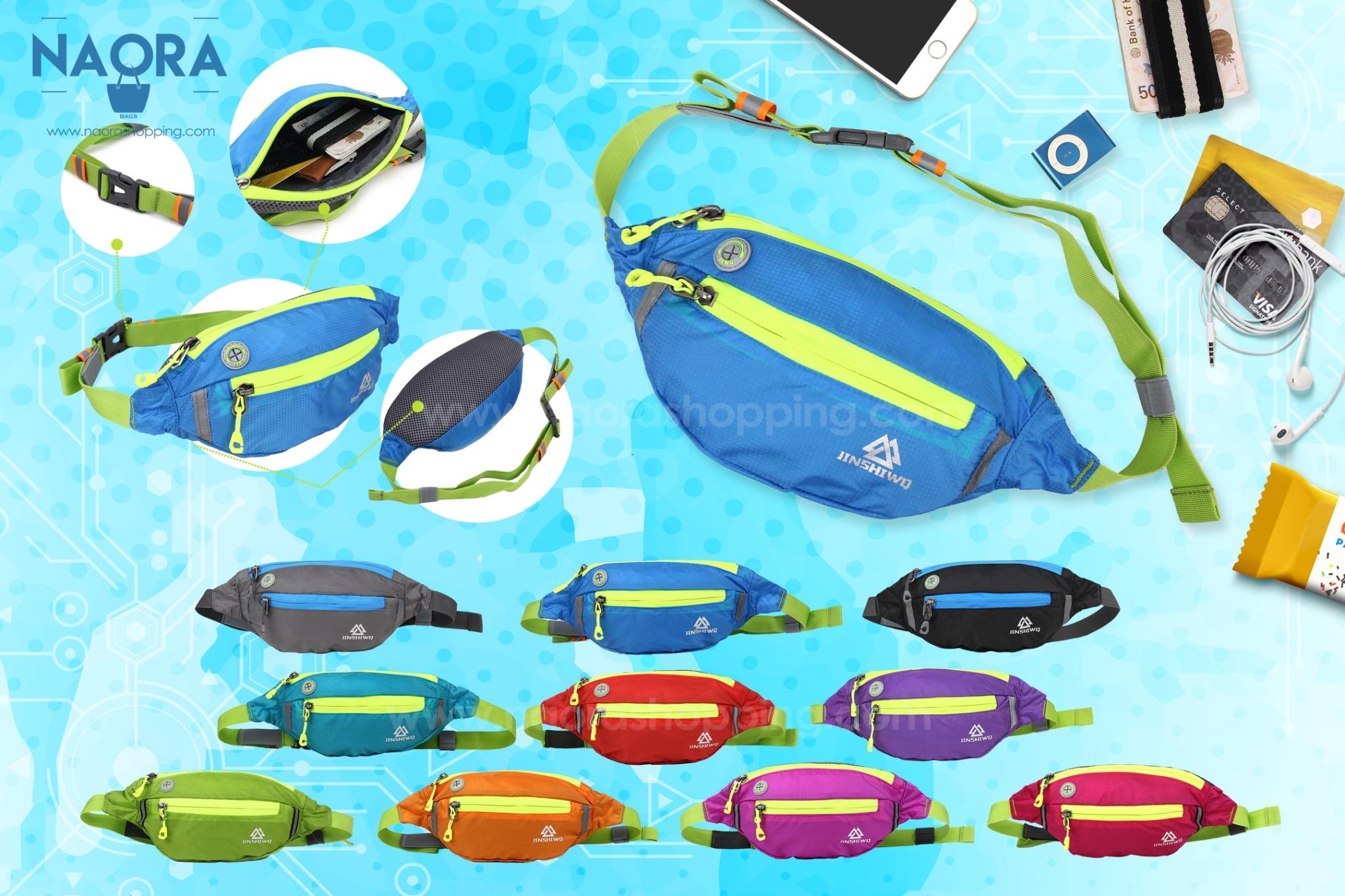 กระเป๋าคาดเอว Sport 2 ซิป