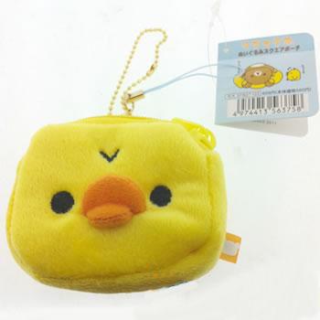 กระเป๋า San-X Kiiroitori สำหรับใส่ของกระจุกกระจิก ของแท้ San-X จ้า