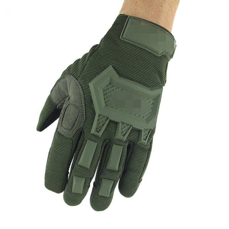 ถุงมือวินเทจ สีเขียว