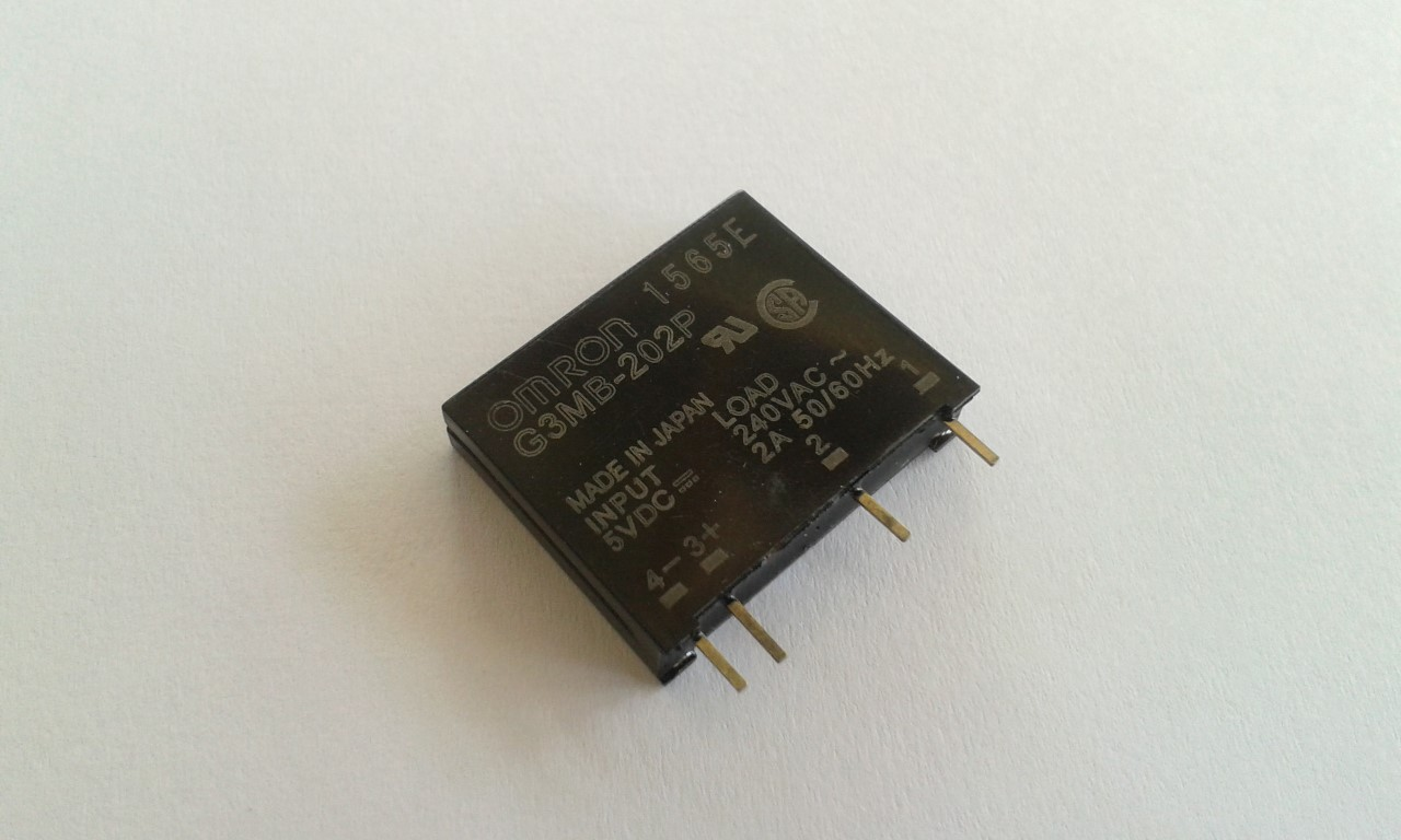 SSR 5VDC - 240V 2A Solid State Relay 5V 240V DC-AC