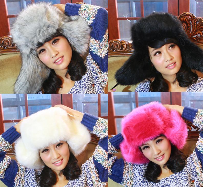 Pre-Order หมวกเฟอร์กันหนาวสไตล์รัชเชีย 9สี **สินค้าPre-Order เปิดรับอีกครั้งวันที่ 1 กพ.60 ( ติดเทศกาลตรุษจีน ) ได้สินค้าประมาณต้นเดือนมีนาคม 60