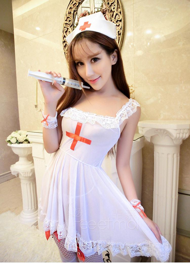 ชุดคอสเพลย์พยาบาลน่ารัก