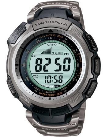 นาฬิกา คาสิโอ Casio PRO TREK SLIM-LINE รุ่น PRG-110T-7V