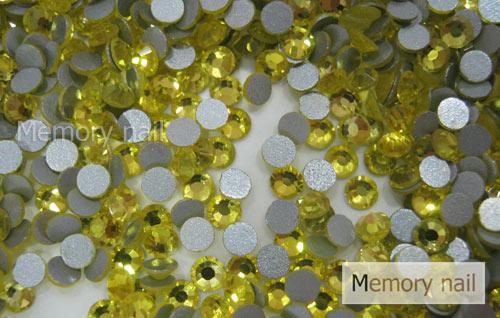 เพชรชวาAA สีเหลือง ขนาด ss10 ซองเล็ก บรรจุประมาณ 80-100 เม็ด