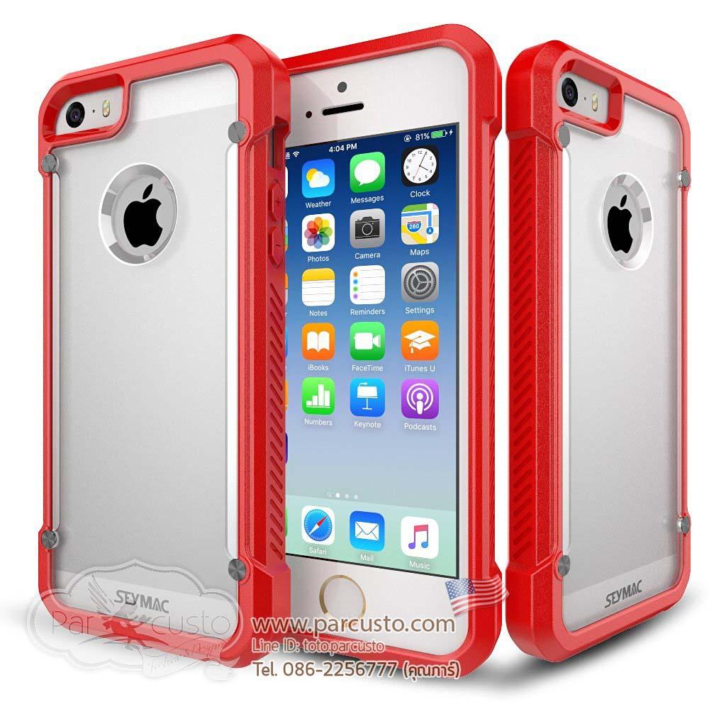 เคสกันกระแทก Apple iPhone SE จาก SEYMAC [หมด]