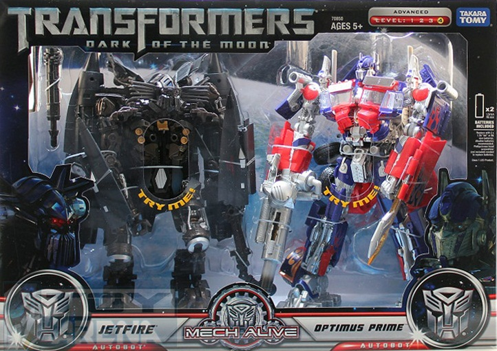Transformers OPTIMUS PRIME BUSTER + JETFIRE Re-Product Pack TAKARA TOMY NEW