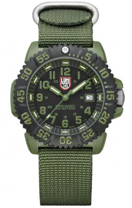 นาฬิกา Luminox รุ่น LUMINOX 3042 OD Military Black/OD Green Watch