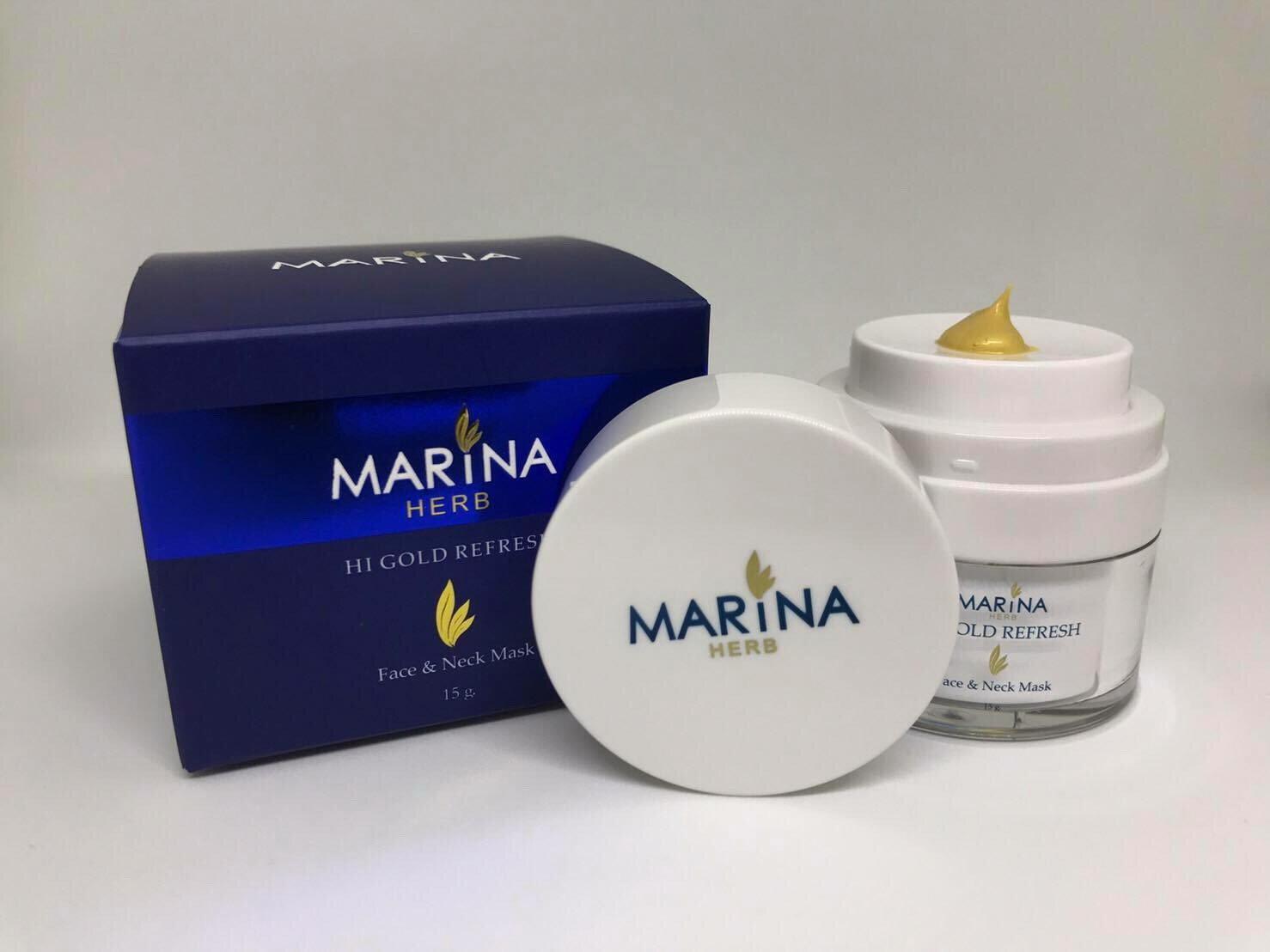 มารีน่า ครีมทองคำ ไฮ โกลด์ รีเฟรช Marina Hi Gold Refresh Cream