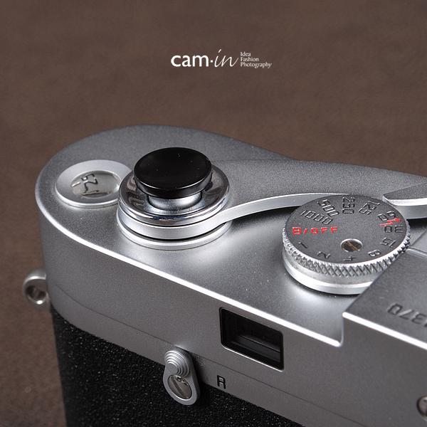 Soft Shutter Release ปุ่มเว้าลง สีดำ กดง่ายสะดวก สำหรับ Fuji XT10 X10 X20 X100 Leica ฯลฯ