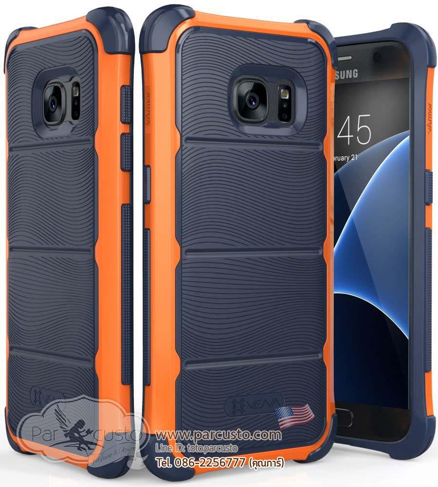 เคสกันกระแทก Samsung Galaxy S7 [Hard Armor Wave]จาก Vena [Pre-order USA]