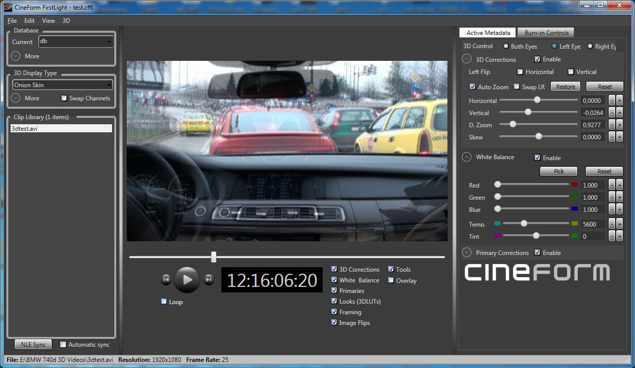Cineform Neo 3D (Mac or Win)