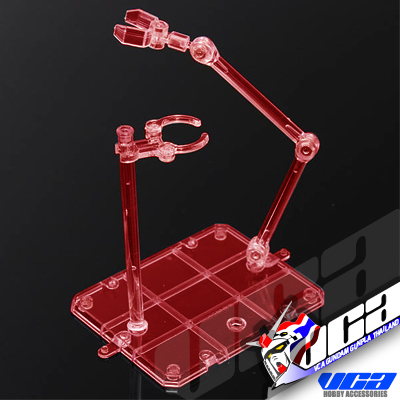 DUAL DISPLAY BASE (CLEAR RED / แดง)