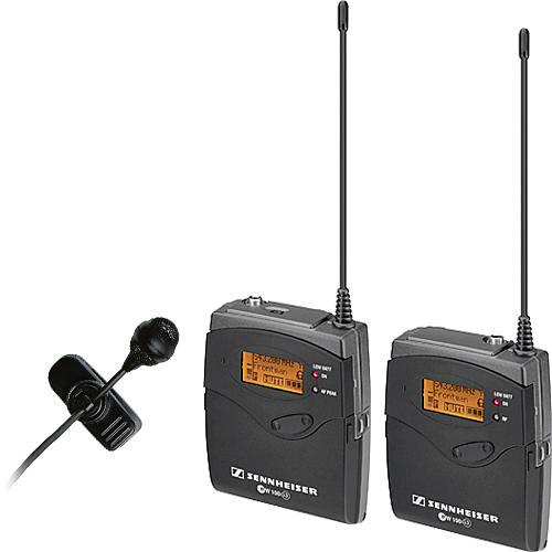 Sennheiser EW122-p G3 Camera Mount Wireless Microphone System with ME4 Lavalier Mic (G: 566-608MHz)