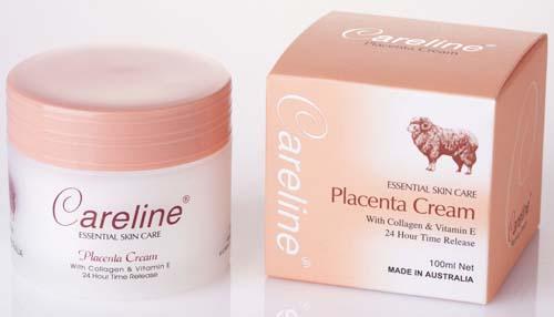 Careline Placenta Cream 100ml.