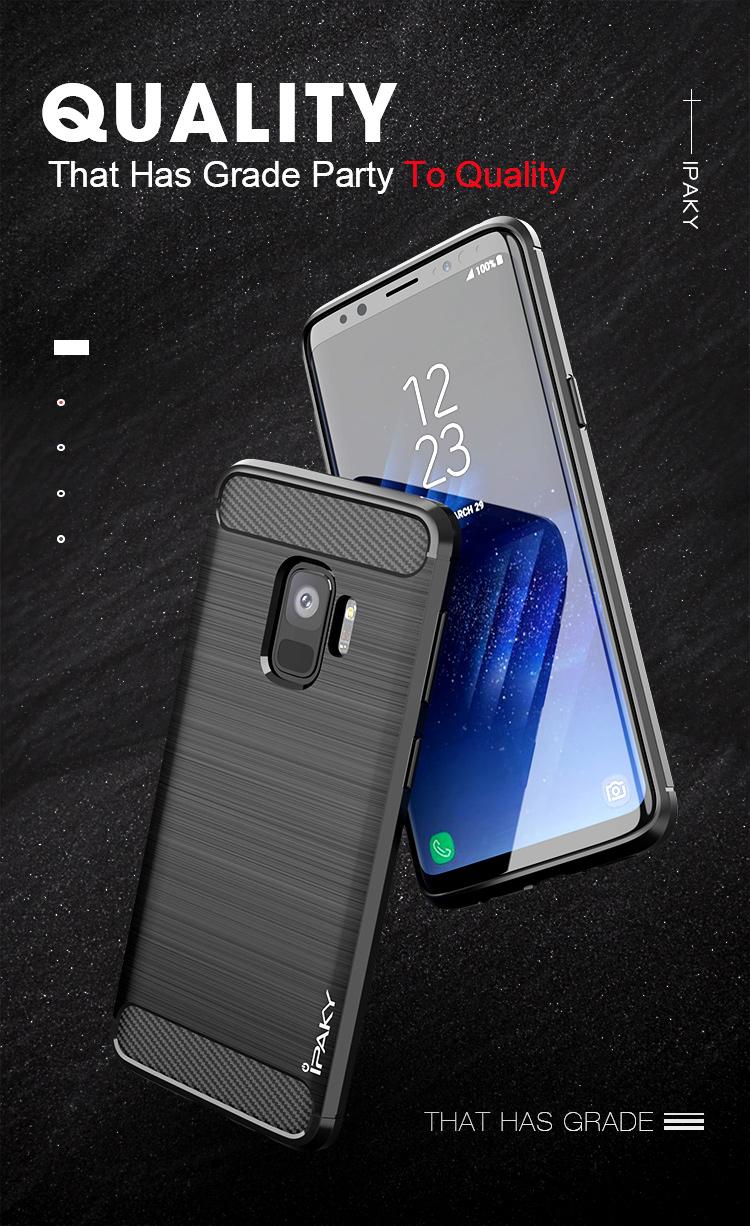เคสกันกระแทก iPAKY LAKO Series Brushed Silicone Galaxy A6 2018