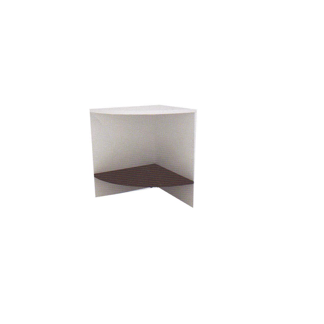 โต๊ะเข้ามุม TCN-P60