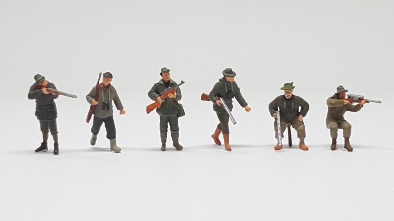 Preiser 10552 Huntsmen