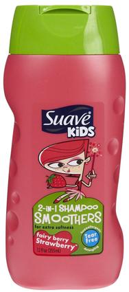 แชมพูผสมครีมนวดผม Suave Kids 2 in 1 กลิ่น Fairy berry Strawberry