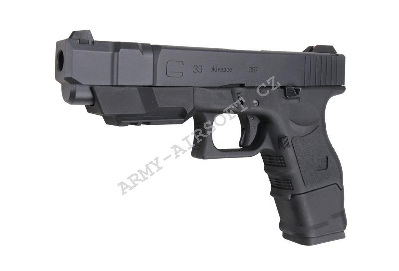 Glock33 Advance Gen3 WE สีดำ