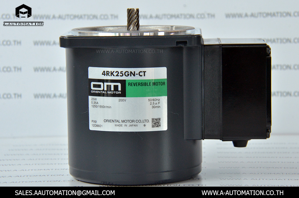 REVERSIBLE MOTOR MODEL:4RK25GN-CT [ORIENTAL MOTOR]