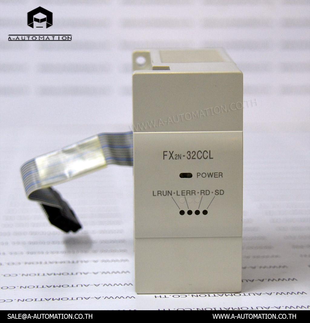 PLC MODEL:FX2N-32CCL [MITSUBISHI]