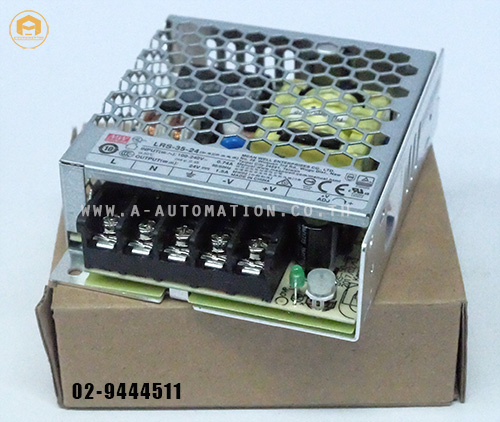 POWER SUPPLY MEAN WELL MODEL:LRS-35-24