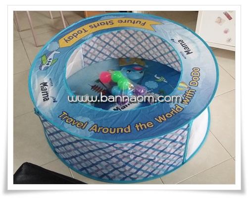 บ่อบอลพร้อมลูกบอลจำนวน 10 ลูก ** ค่าจัดส่งฟรี