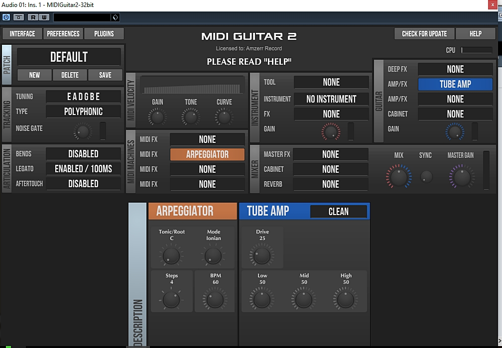 Jam Origin - MIDI Guitar v2 2 1 PC32/64Bit
