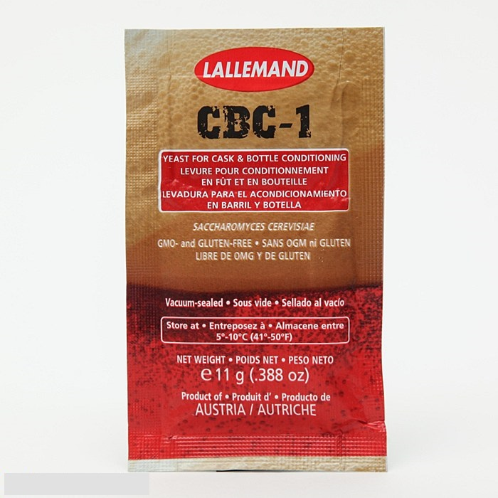 CBC-1 Cask + Bottle yeast 11g.