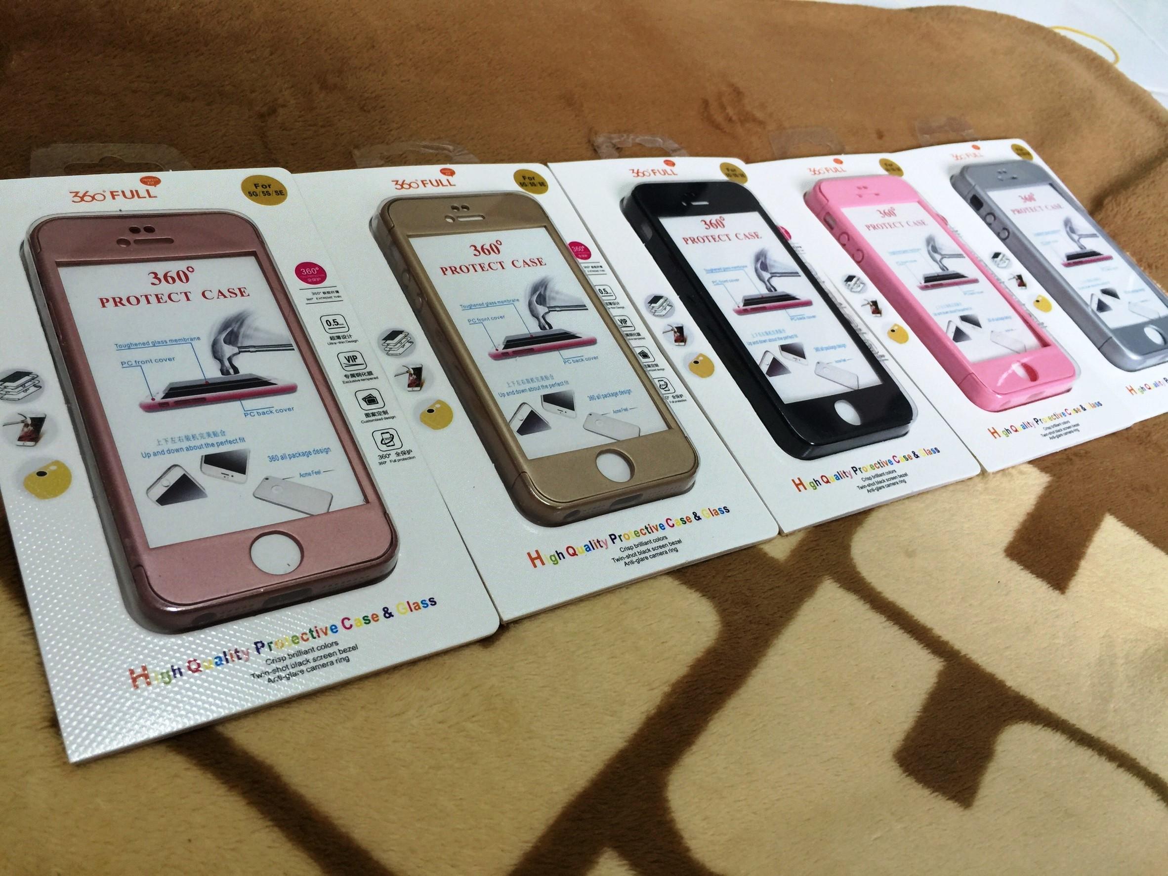 เคสประกบ 360องศา 3in1 iphone5/5s/se