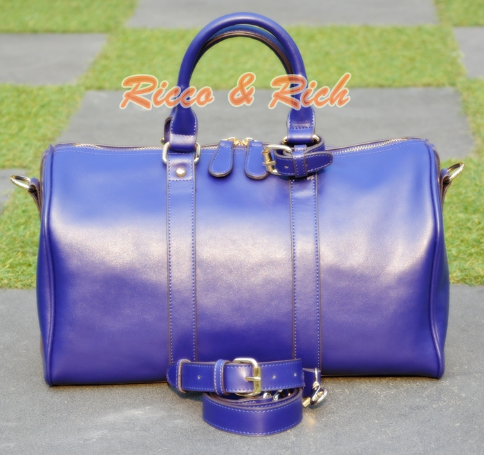 กระเป๋าหนังแท้ Lorita - VioletBlue