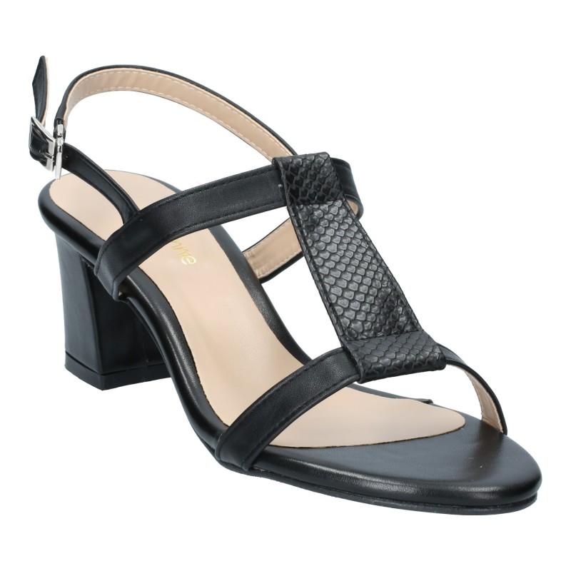 ลดล้างสต๊อก รองเท้าส้นเตี้ย SB78001-BLK [สีดำ]