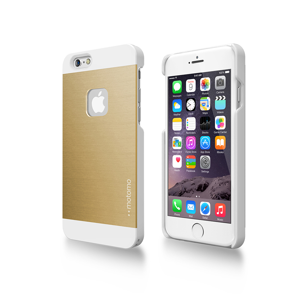 MOTOMO LINE PS3 CASE for iPhone6 (Gold /White)