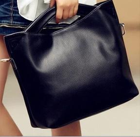 พร้อมส่ง กระเป๋าผู้หญิง ถือและสะพายข้าง แฟชั่นสไตล์ยุโรป Fashion bag รหัส G-825 สีดำ