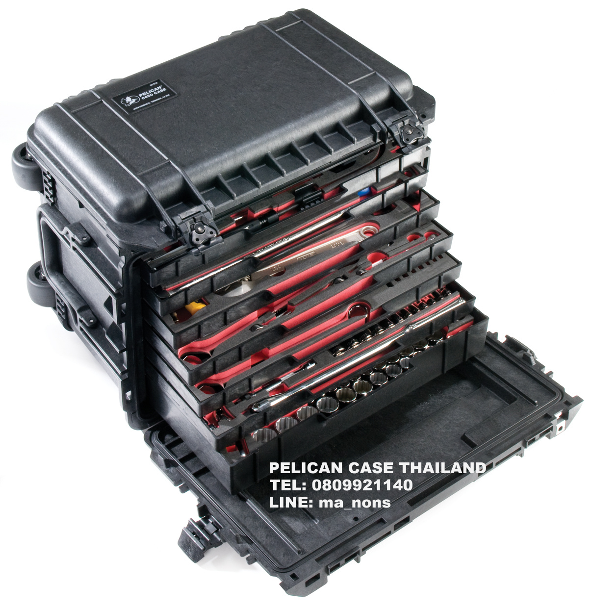 PELICAN™ 0450 TOOL CASE WITH DRAWER