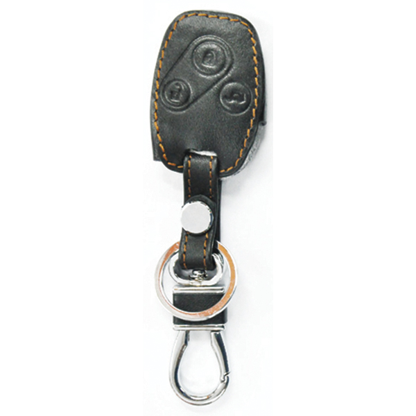 WASABI ซองกุญแจหนัง 3D รุ่น HONDA ACCORD เก่า (สีดำ)
