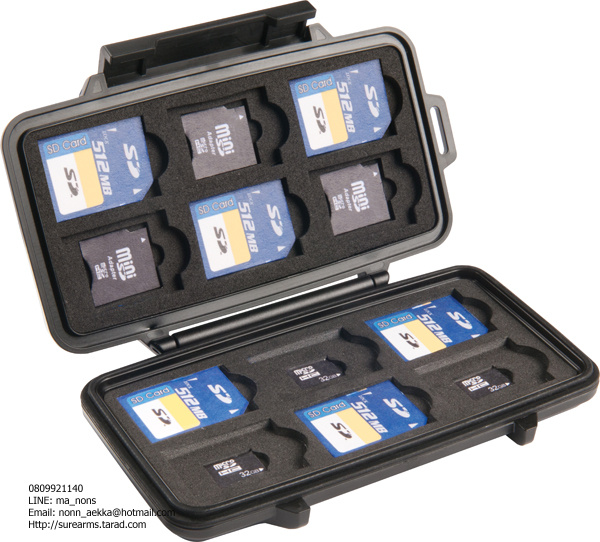PELICAN™ 0915 SD Memory Card Case