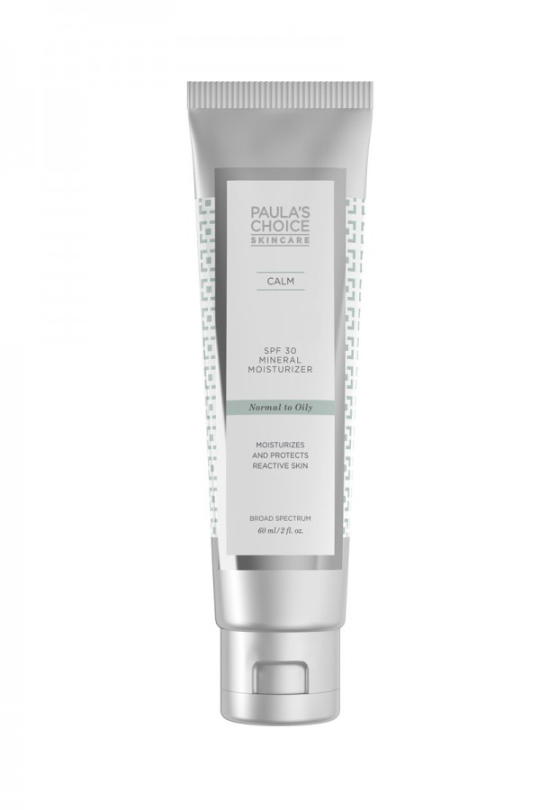 CALM SPF30 Mineral Moisturizer. Normal To Oily