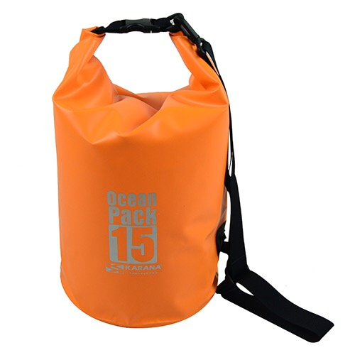 กระเป๋ากันน้ำ Ocean Pack 15L-สีส้ม