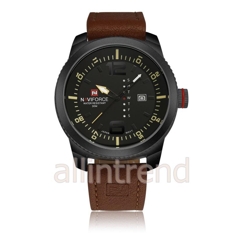 นาฬิกา Naviforce รุ่น NF9063M สีเหลือง/ดำ ของแท้ รับประกันศูนย์ 1 ปี ส่งพร้อมกล่อง และใบรับประกันศูนย์ ราคาถูกที่สุด