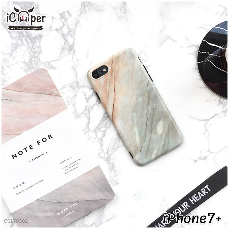 Marble Case - Gray (iPhone7+)