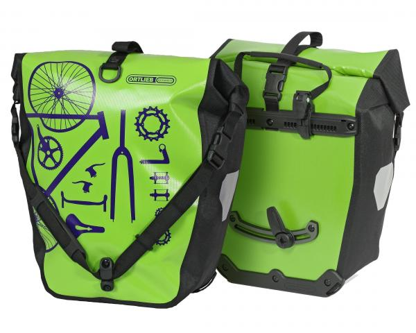 กระเป๋าคู่หลัง Ortlieb Back-Roller Design - lime/black (Pair) [F5463]