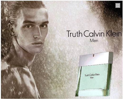 น้ำหอม Truth For Men Calvin Klein for men 100ml. new in sealed box